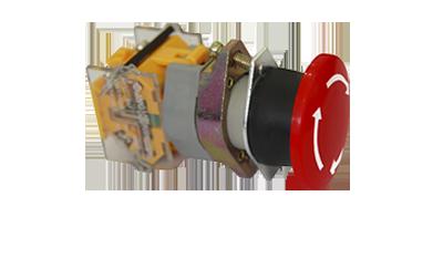 Botão de emergência (STOP) LA39