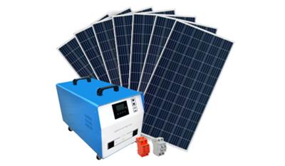 Gerador Solar Fotovoltaico Off-Grid